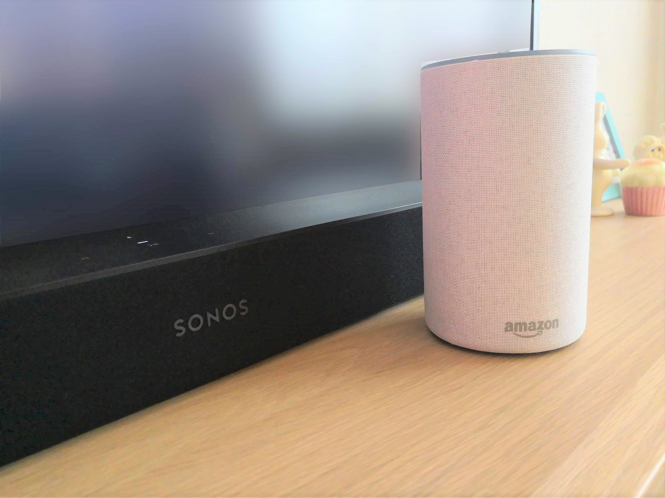 SONOS BeamとAmazon echo