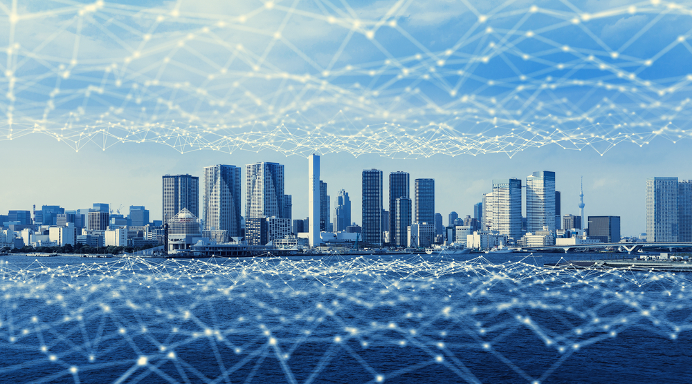 街を覆う通信ネットワーク
