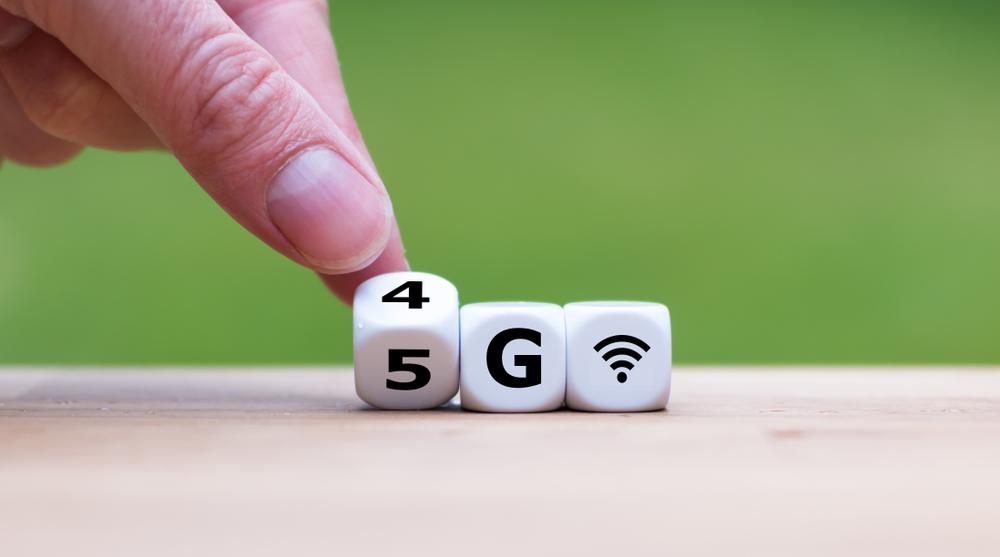 4Gから5Gへ変わるサイコロ