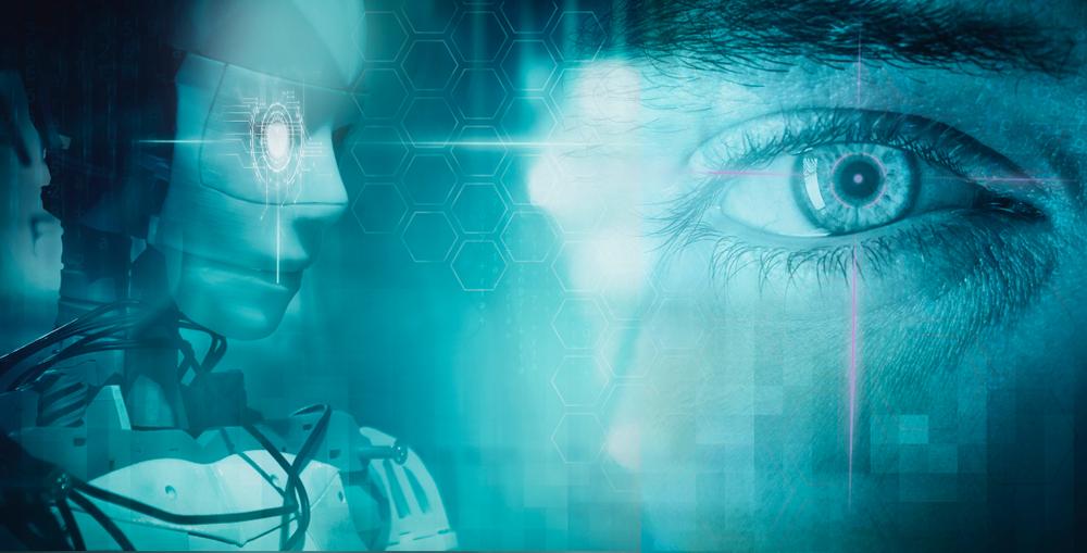 人の目とロボットの目